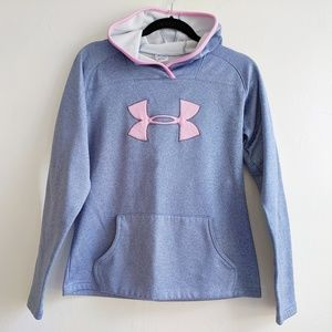 Like new Under Armour pullover hoodie size SM